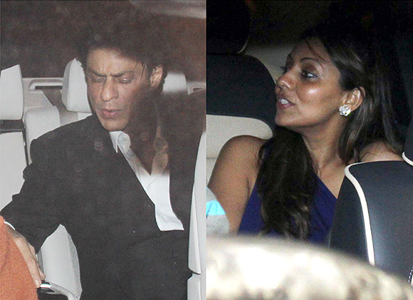 Sha Rukh and Gauri Khan