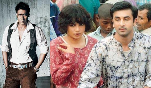 Ajay Devgn, a scene from Barfee