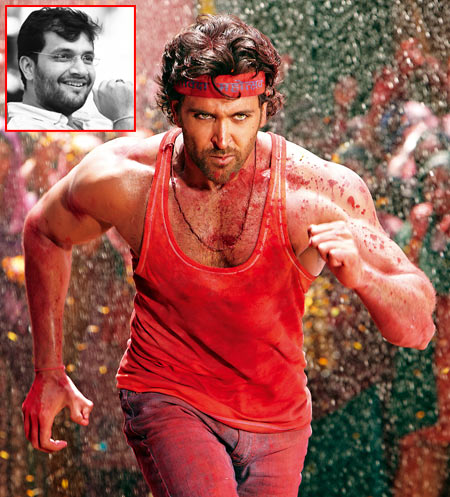 A scene from Agneepath. Inset: Karan Malhotra