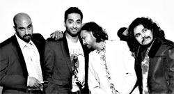 Vasanth Santosham, Manu Narayan, Abhishek Shah and Raja Sen