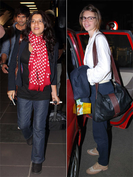 Zoya Akhtar and Kalki Koechlin