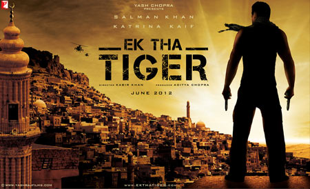 Movie poster of Ek Tha Tiger