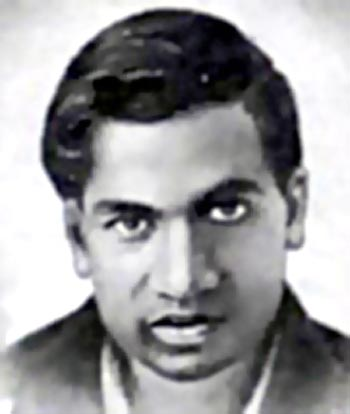 Picture of Srinivasa Ramanujan
