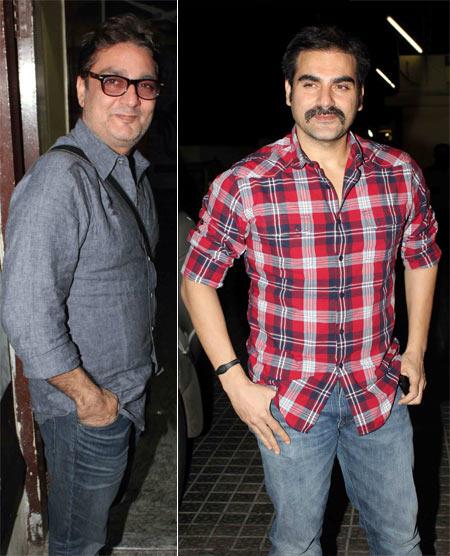 Vinay Pathak and Arbaaz Khan