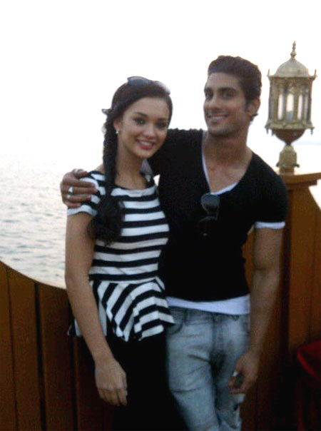 Amy Jackson and Prateik Babbar