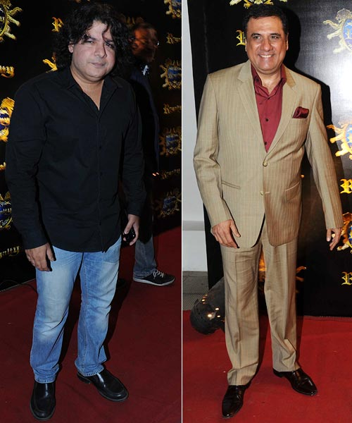 Sajid Khan and Boman Irani