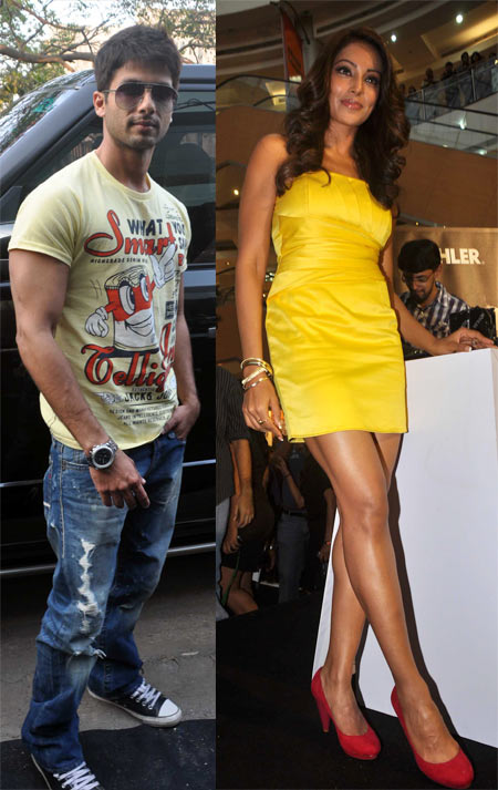 Bipasha Basu and Shahid Kapoor