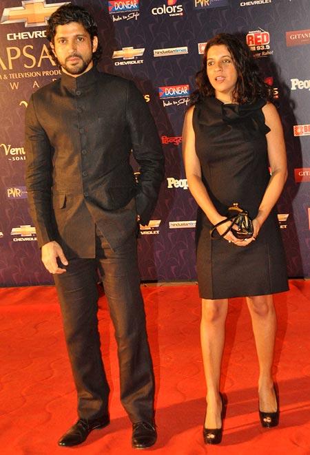 Farhan and Zoya Akhtar