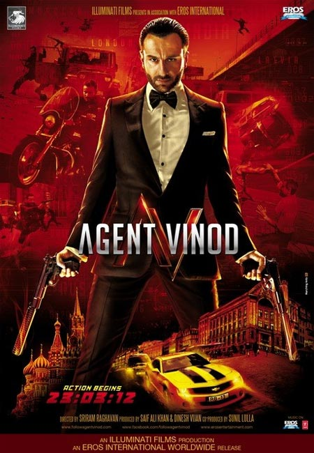 Movie poster of Agent Vinod