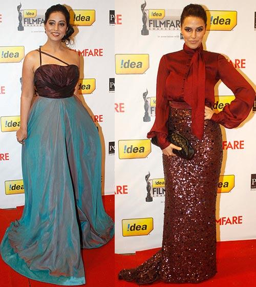 Mahie Gill, Neha Dhupia