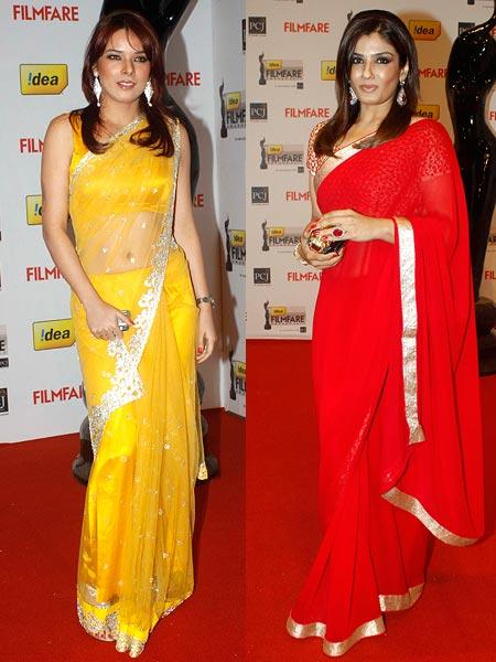 Udita Goswami and Raveena Tandon