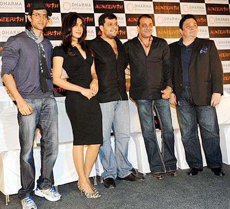 Hrithik Roshan, Priyanka Chopra, Karan Malhotra, Sanjay Dutt, Rishi Kapoor