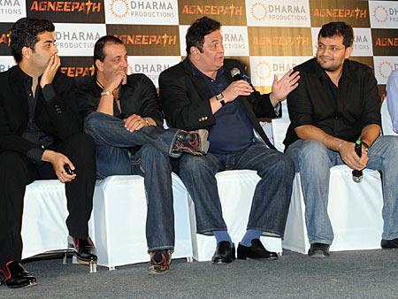 Karan Johar, Sanjay Dutt, Rishi Kapoor, Karan Malhotra