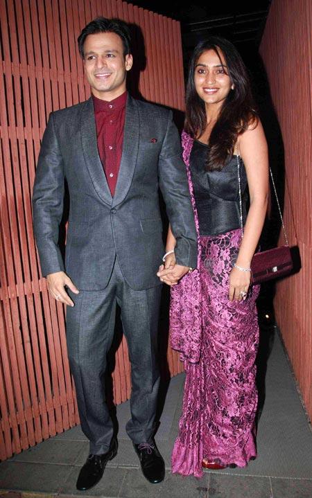 Viveik Oberoi and Priyanka Alva