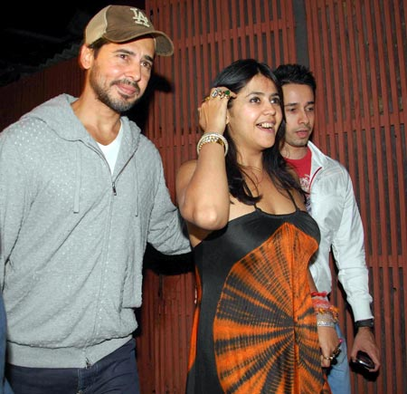 Dino Morea and Ekta Kapoor