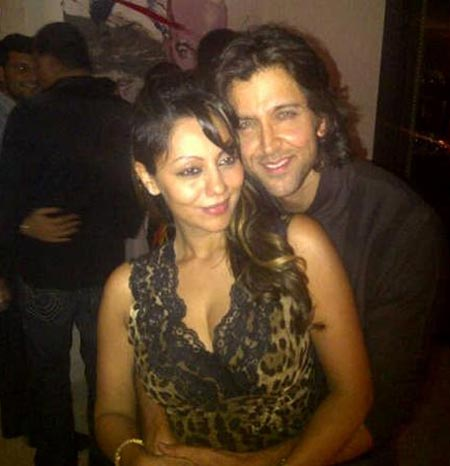 Gauri Khan and Hrithik Roshan