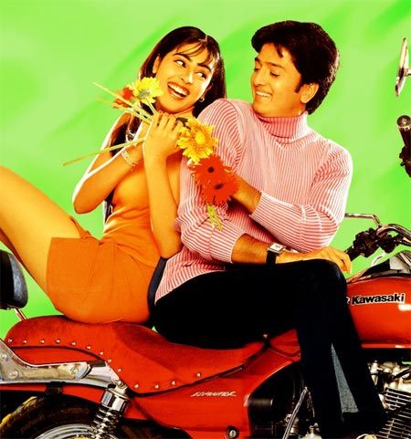 Genelia D'Souza and Riteish Deshmukh in Tujhe Meri Kasam