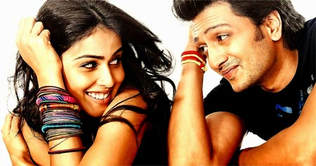 Image result for genelia and ritesh