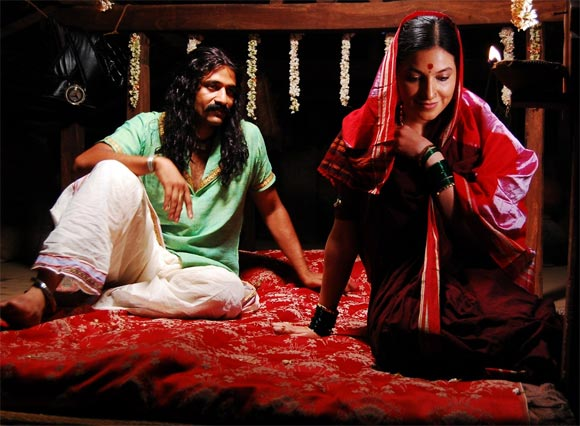 A scene from Bhageerathi
