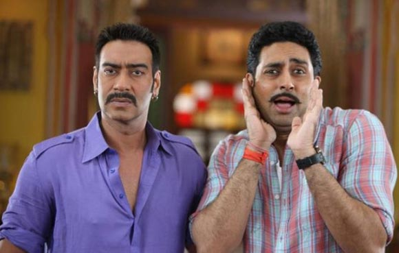 Bol Bachchan was a remake of yester year's hit film Gol Maal