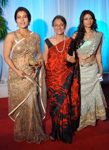 Kajol, Tanuja and Tanisha