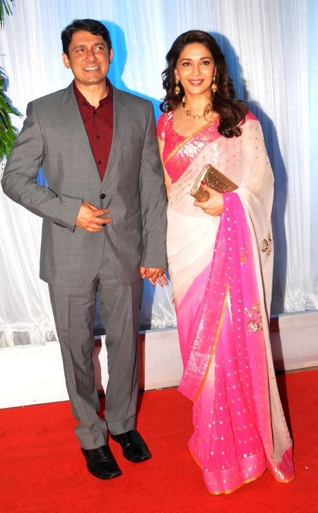 Sriram and Madhuri Dixit Nene