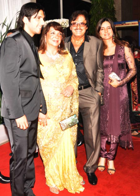 Zayed and Sanjay Khan