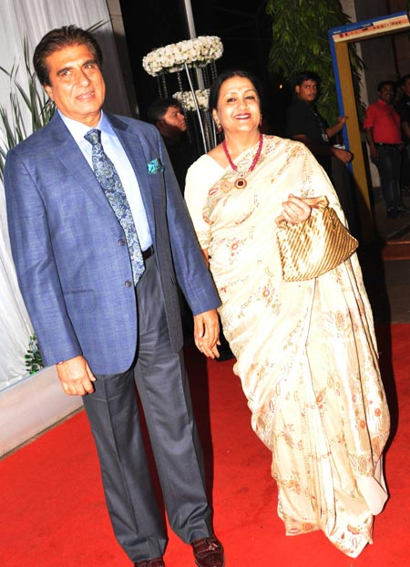 Raj Babbar and Nadira