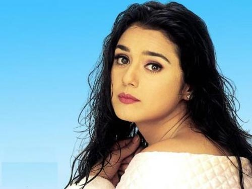 Preity Zinta in Sangharsh