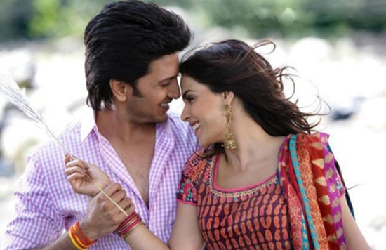 Riteish Deshmukh and Genelia D'Souza in Tere Naal Love Ho Gaya