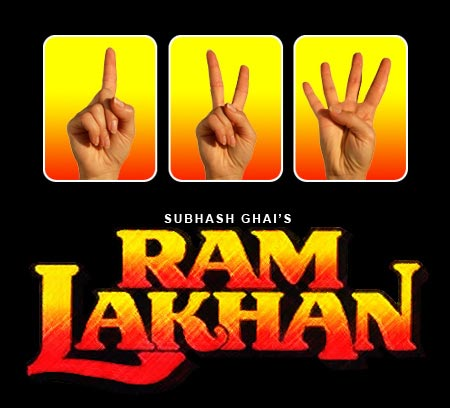 The Ram Lakhan poster