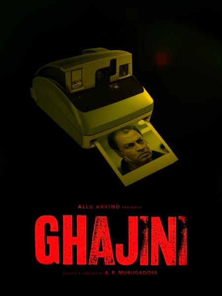 The Ghajini poster