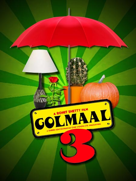 The Golmaal 3 poster