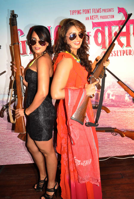 Richa Chadda and Huma Qureshi