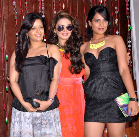 Reemma Sen, Huma Qureshi and Richa Chadda