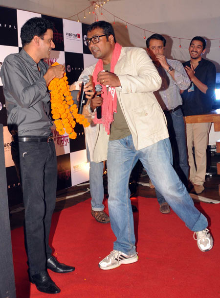 Manoj Bajpayee and Anurag Kashyap