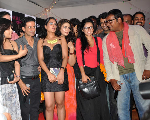 Reemma Sen, Manoj Bajpayee, Richa Chadda, Huma Qureshi, Sneha Khanwalkar and Anurag Kashyap