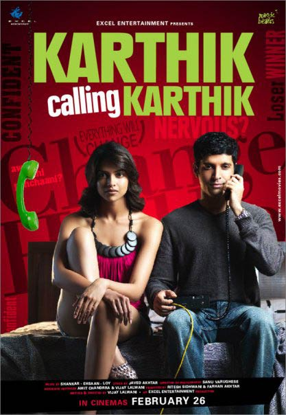 Movie poster of Karthik Calling Karthik
