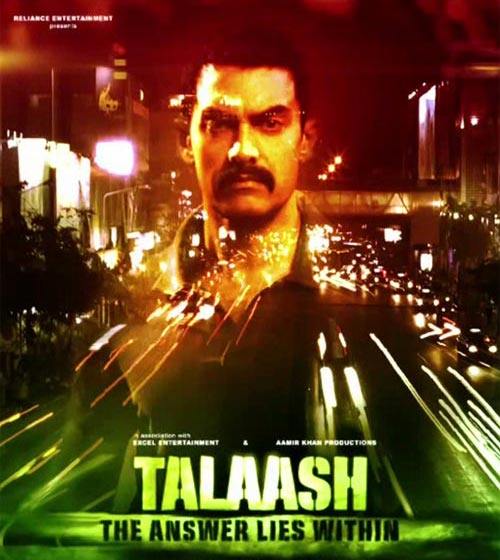 Movie poster of Talaash
