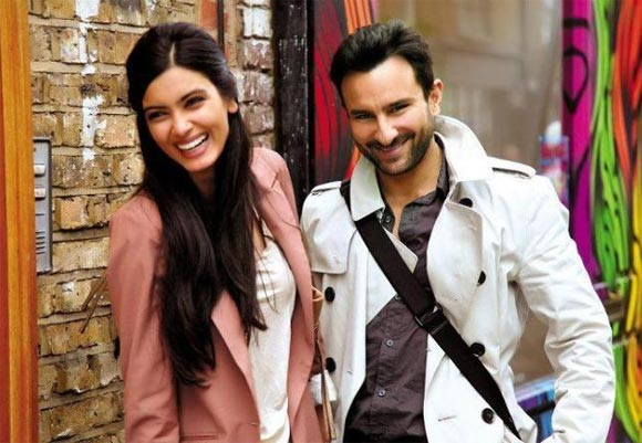 Diana Penty and Saif Ali Khan in Cocktail