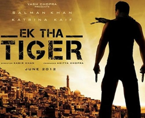 Movie poster of Ek Tha Tiger