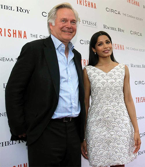 Jonathan Sehring and Freida Pinto