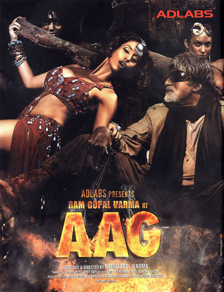 Movie poster of Ramgopal Varma Ki Aag