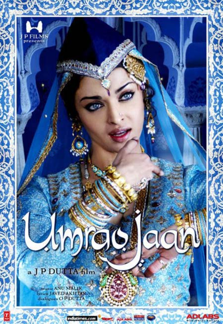 Movie poster of Umrao Jaan