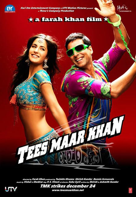 Movie poster of Tees Maar Khan