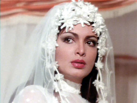 Parveen Babi in Amar Akbar Anthony
