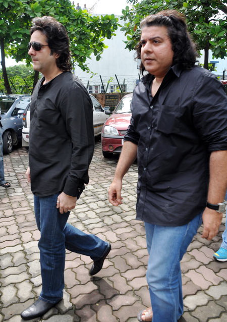 Fardeen Khan and Sajid Khan