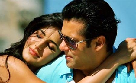 Katrina Kaif and Salman Khan in Ek Tha Tiger