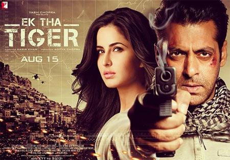 The Ek Tha Tiger poster
