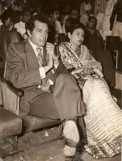 Dara Singh along with his wife Surjeet Kaur